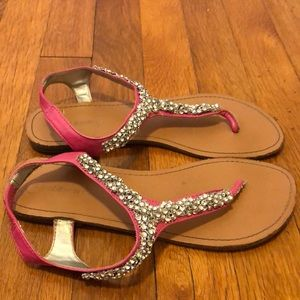 Sandals with sparkle